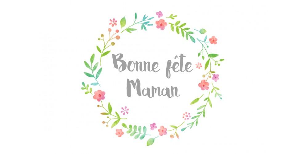 """Carte """"Bonne fête maman"""""""