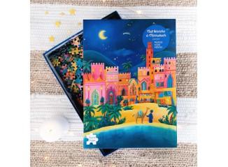 """Puzzle """"Nuit Blanche à Marrakech"""""""