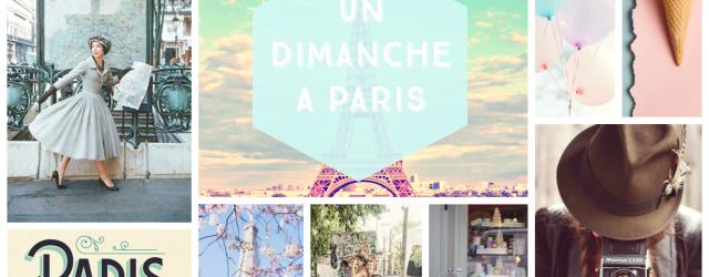 Box papeterie Un dimanche à Paris par Saperlipapier
