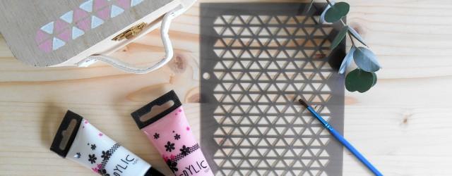 Rangement bureau scandinave et DIY pastel