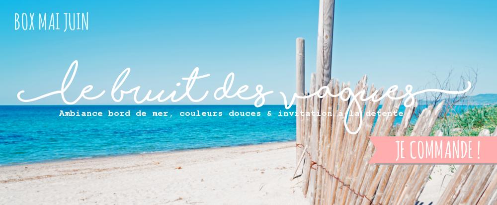 Papeterie inspiration bord de mer, couleurs douces et invitation à la détente
