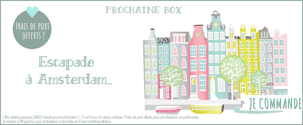 Box papeterie pastel, illustration, créateur, maison,