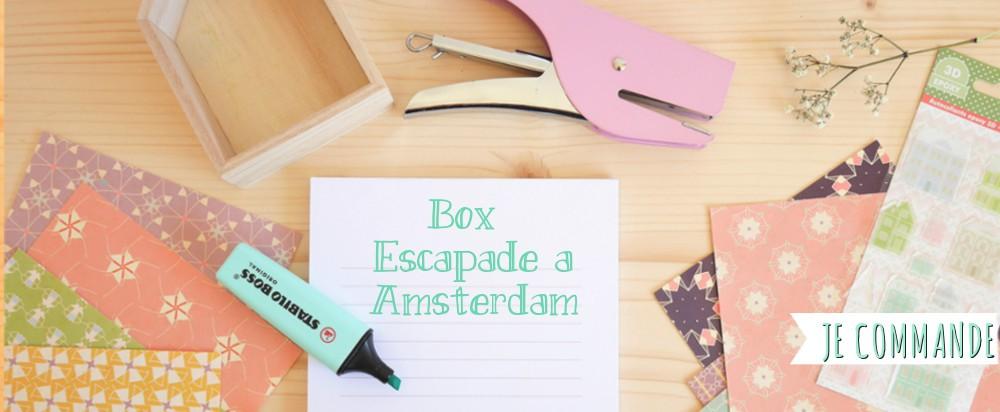 Box papeterie pastel, illustration, créateur, maison, amsterdam