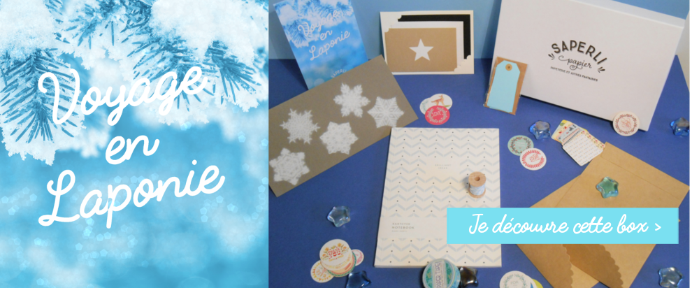 Coffret cadeau pour un Noël scandinave : déco, paquets cadeaux, carnet, messages