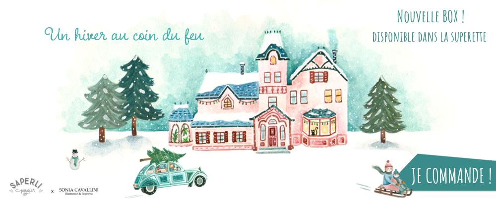 Box Un hiver au coin du feu - Un coffret de Noël magique et lumineux !