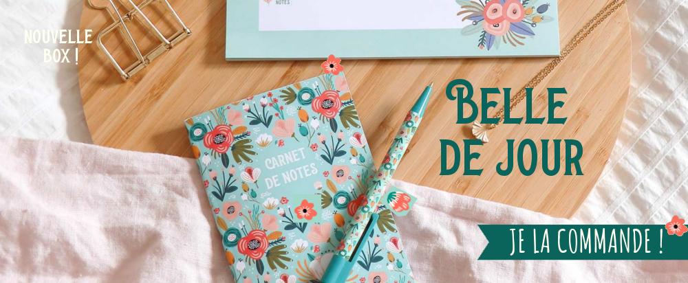 Coffret de papeterie motif style rifle paper fleurs cadeau fête mères